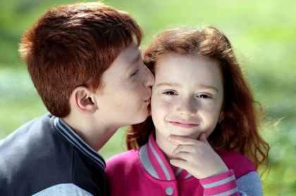 affection brother child children